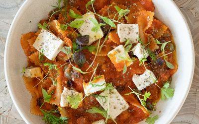 Italian Farfalle Pasta @Assaggini