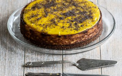 Baked Poppyseed Cheesecake